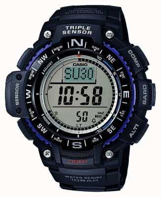 Casio Drievoudige sensor digitale chronograaf SGW-1000-1AER