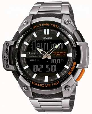 Casio Collection twin sensor hoogtemeter barometer SGW-450HD-1BER