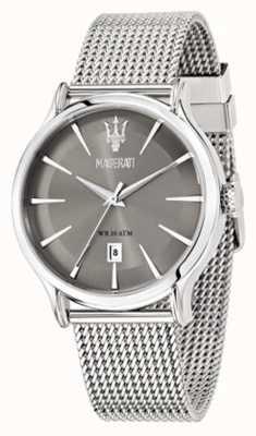 Maserati Epoca 42mm armband grijze wijzerplaat R8853118002