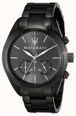 Maserati Traguardo 45mm chrono ip gun metal R8873612002