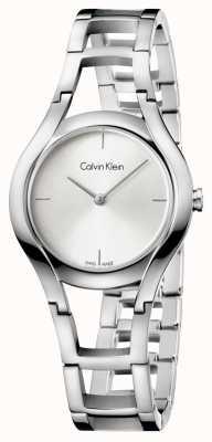 Calvin Klein Womens klasse verzilverd K6R23126