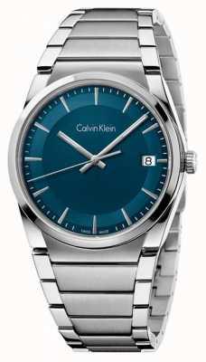 Calvin Klein Mens stap wintertaling dial K6K3114L