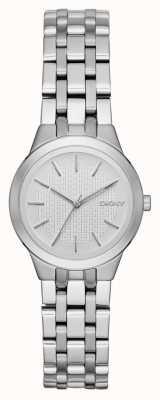 DKNY Park Slope dames zilveren horloge NY2490
