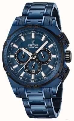 Festina Special edition heren chronograaf horloge F16973/1