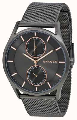 Skagen Mens holst gun metal pvd verguld SKW6180