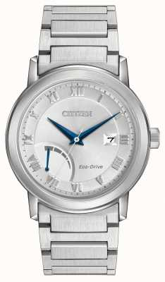 Citizen Heren RVS Eco-Drive armband AW7020-51A