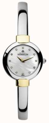 Michel Herbelin Womens Salambo two tone armband 17410/BT59