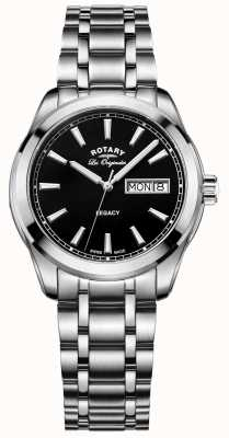 Rotary Mens les originales legacy roestvrij staal GB90173/04