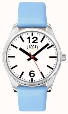 Limit Vrouwen blauwe band witte wijzerplaat 6182.01