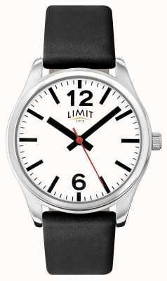 Limit Mannen zwarte band witte wijzerplaat 5626.01