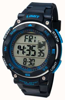 Limit Heren sport horloge zwarte band 5487.01