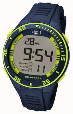 Limit Marineblauwe digitale wijzerplaat voor heren 5574.24