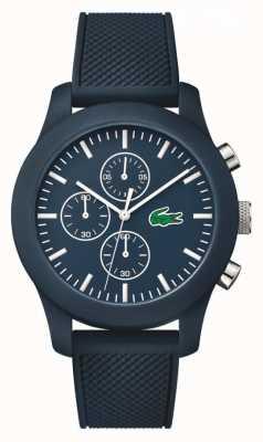 Lacoste Unisex marine rubberen band marine chronograaf wijzerplaat 2010824