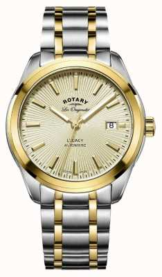 Rotary Mens les originales legacy automatische two tone GB90166/03