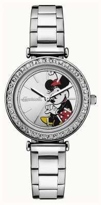 Disney By Ingersoll Damesvereniging disney roestvrij staal zilveren wijzerplaat ID00305