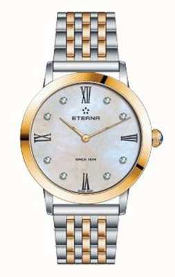 Eterna Vrouwen eeuwigheid armband twee toon horloge 2720.53.69.1739