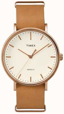 Timex Unisex weekender fairfield cream dial TW2P91200