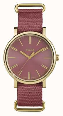 Timex Unisex rose wijzerplaat rose doeklus TW2P78200