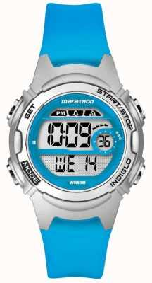 Timex Childrens marathon alarm chronograaf blauw TW5K96900