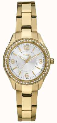 Timex Womans goud miami mini TW2P80100