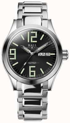 Ball Watch Company Mens ingenieur ii genesis automatisch roestvrij staal NM2026C-S7-BK