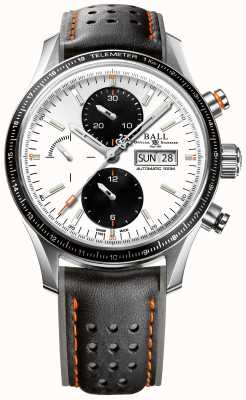 Ball Watch Company Brandweerman storm chaser voor automatische chronograaf CM3090C-L1J-WH