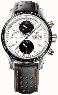 Ball Watch Company Brandweerman storm chaser pro automatische chronograaf CM3090C-L1J-WH