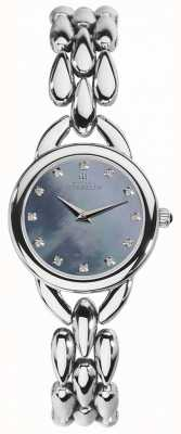 Michel Herbelin Womans waterval blauw parelmoer zirconia dial 17475/B60