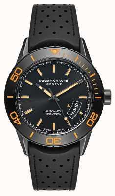 Raymond Weil Mens automatische zwarte PVD verzinkt staal 2760-SB2-20001