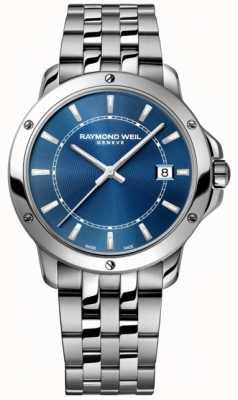 Raymond Weil Heren tango roestvrij stalen blauwe wijzerplaat 5591-ST-50001