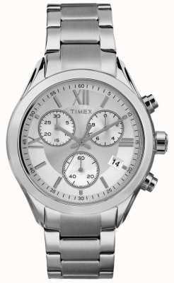 Timex Womans miami chronograaf zilver toon TW2P93600