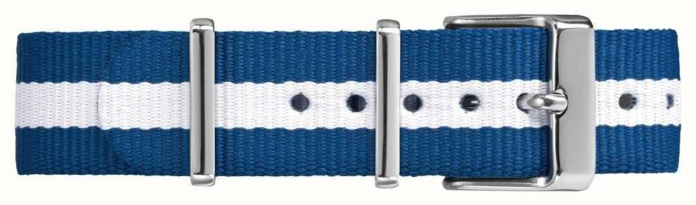 Timex Weekender fairfield 18mm blauwe witte band TW7C07300