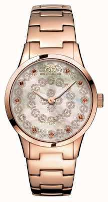88 Rue du Rhone Rive 32mm dames quartz rose goud 87WA153202