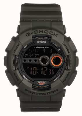 Casio G-shock groen voor heren limited edition GD-100MS-3ER