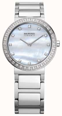 Bering Dames roestvrij staal zilver 10729-704