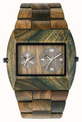 WeWood Mens jupiter rs leger houten strap 70331100