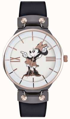 Disney Adult Minnie muis roos gouden hoesje zwarte band MN1564