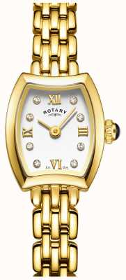 Rotary Womans verguld cocktail horloge LB05055/01
