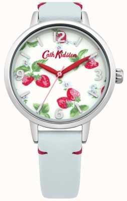 Cath Kidston Ladies lichtblauw aardbeien kijken CKL006WUS