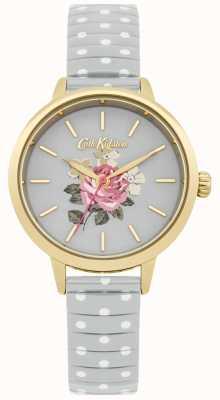 Cath Kidston Horloge van de stip richmond van dames het grijze CKL009EG