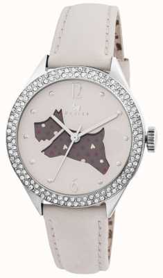 Radley De natuur crème lederen band horloge RY2205