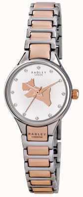 Radley Op de vlucht koppeling two tone bracelet RY4214