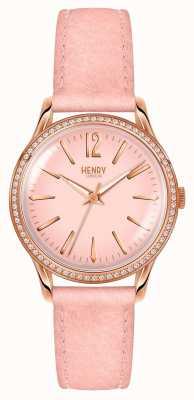 Henry London Vrouwen shoreditch roze set HL34-SS-0202
