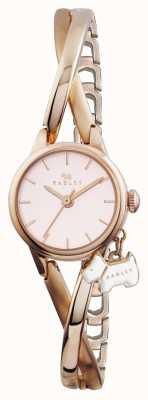 Radley Rose goud verguld half armband RY4184