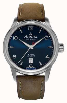 Alpina Mens Alpiner automatisch blauw AL-525N4E6