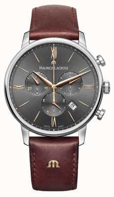 Maurice Lacroix Mens Eliros chronograaf grijs EL1098-SS001-311-1