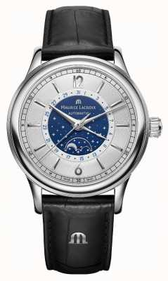 Maurice Lacroix Mens les Classiques maanstand automatische LC6168-SS001-122-1