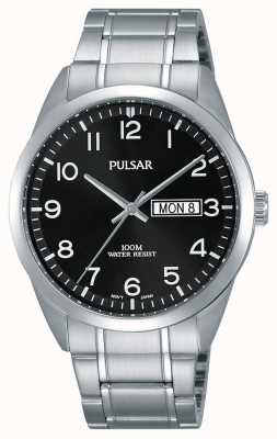 Pulsar Gents klassieke roestvrijstalen horloge PJ6063X1