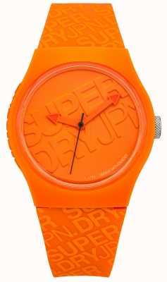 Superdry Unisex Urban Oranje Silicone SYG169O