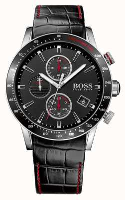 Hugo Boss Gents Rafale zwarte chronograaf 1513390